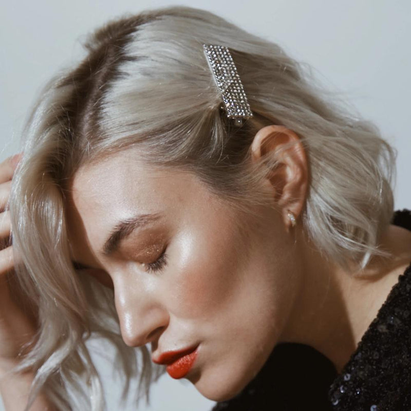 Statement Crystal Hair Clip