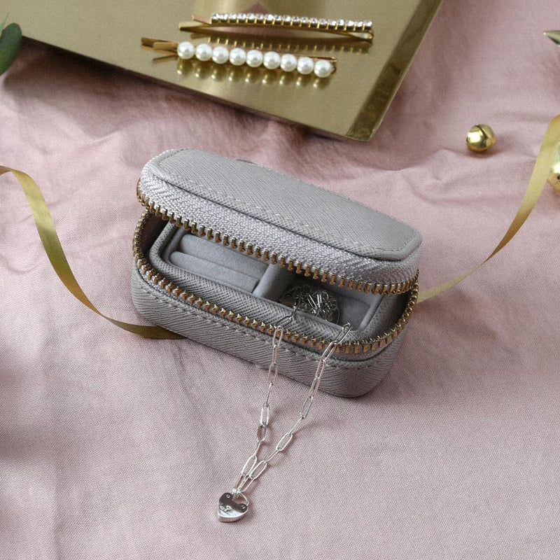 Stackers Petite Travel Jewellery Box - Taupe