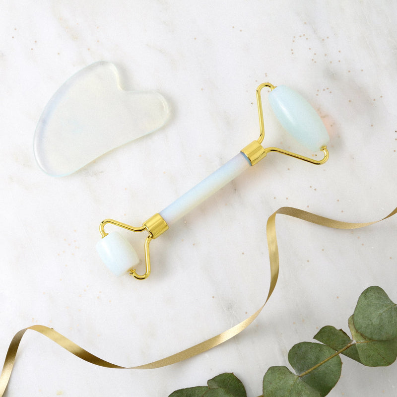 Glass Opal Gua Sha