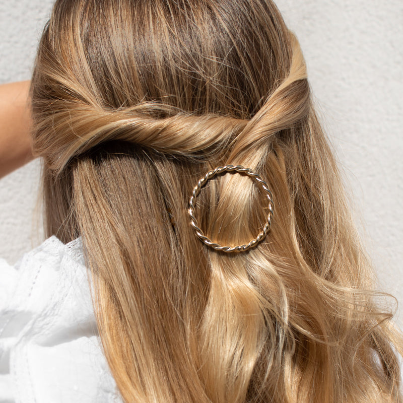 Circle Rope Chain Hair Clip
