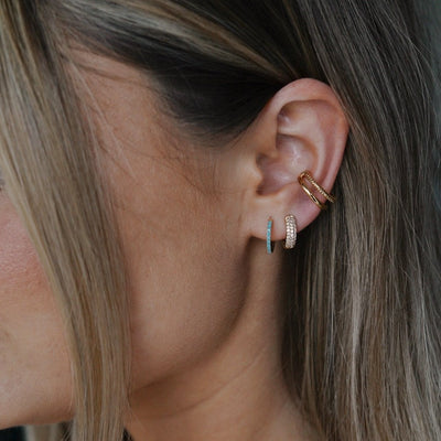 Double Ear Cuff - Gold