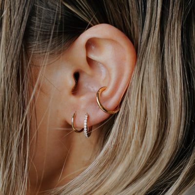 Simple Ear Cuff - Gold