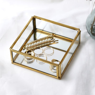 Small Mirrored Trinket Tray