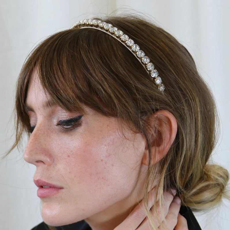 Crystal Stone Hairband