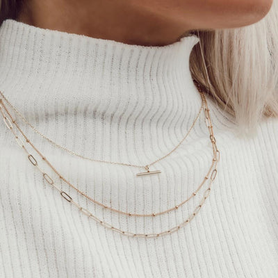 Satellite Chain Necklace - Short