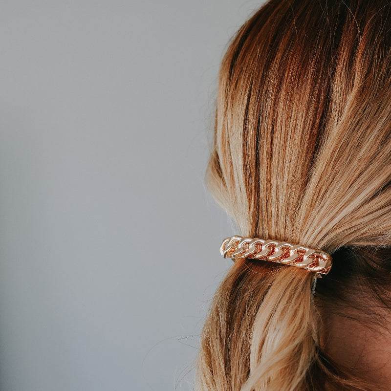 Chunky Rope Chain Hair Barrette