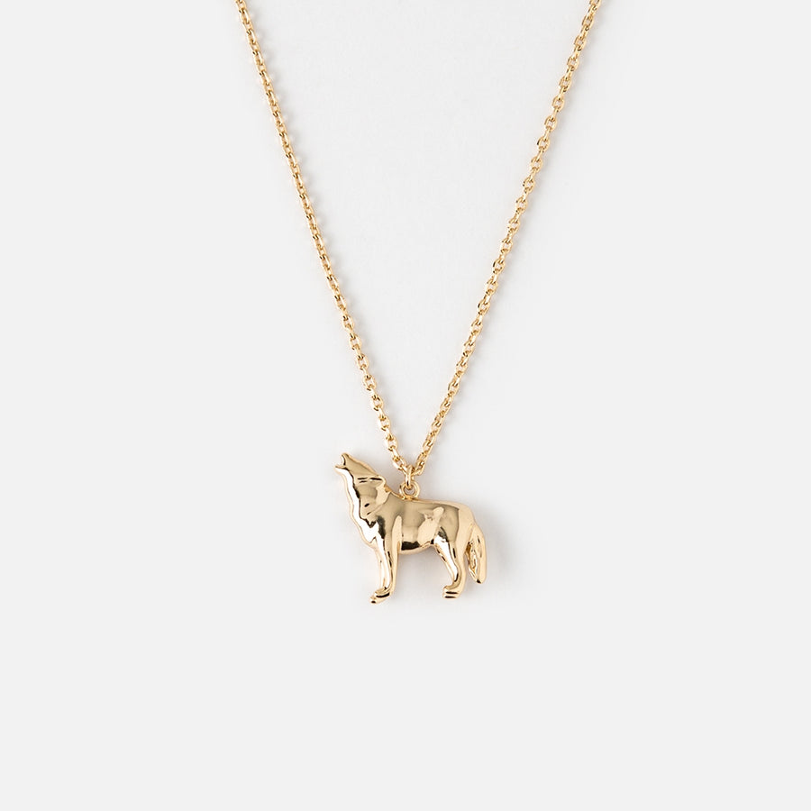 Wolf Ditsy Necklace