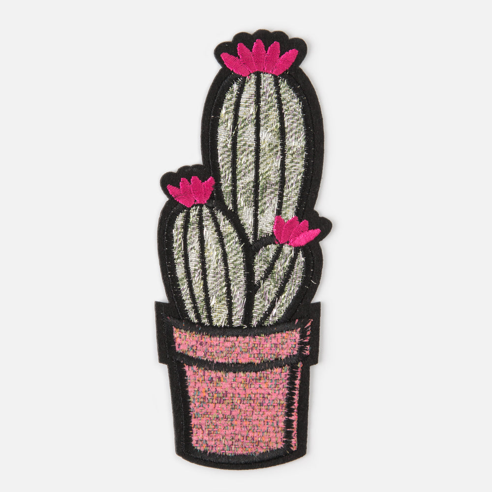 Cactus Patch With Pink Flowers Orelia London