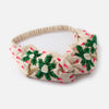 Embroidered Palm Tree Head wrap