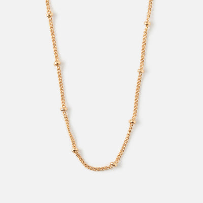 Satellite Chain Necklace - Long