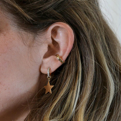 Multi Star Ear Cuff