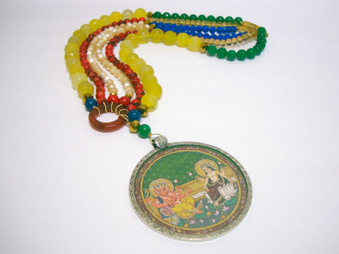 Long Ganesha Necklace