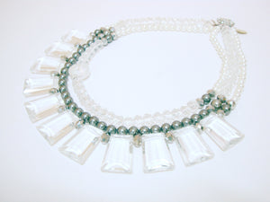 Signature Beaded Icy Pearl Necklace - Riddhika Jesrani