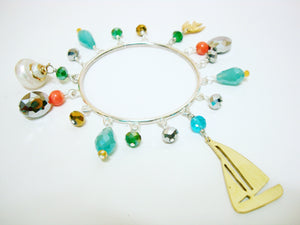 Charm Bangle with Boat