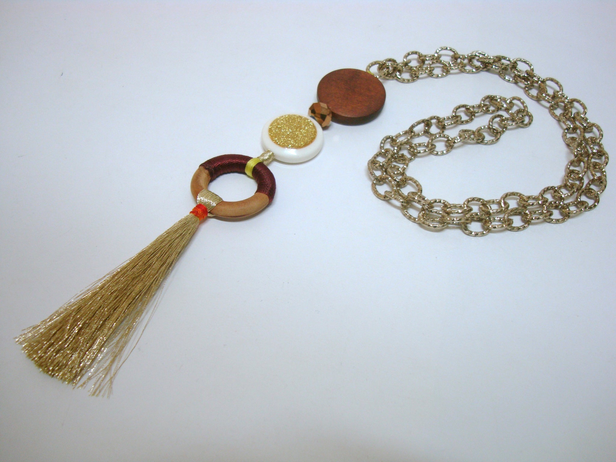 Fun and Games Tassel Chain - Riddhika Jesrani