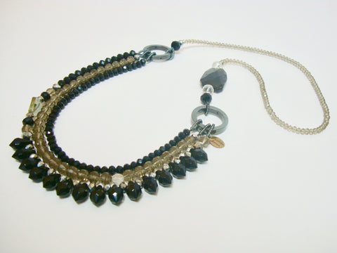 Signature Beaded Twilight Necklace - Riddhika Jesrani