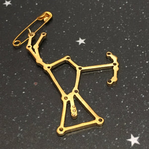 Golden 'ORION'  Brooch - Riddhika Jesrani