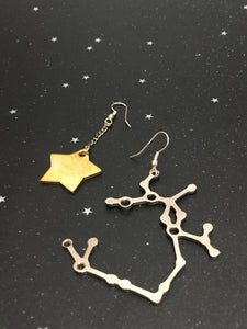 Gold Star 'SAGITTARIUS'  Earrings - Riddhika Jesrani