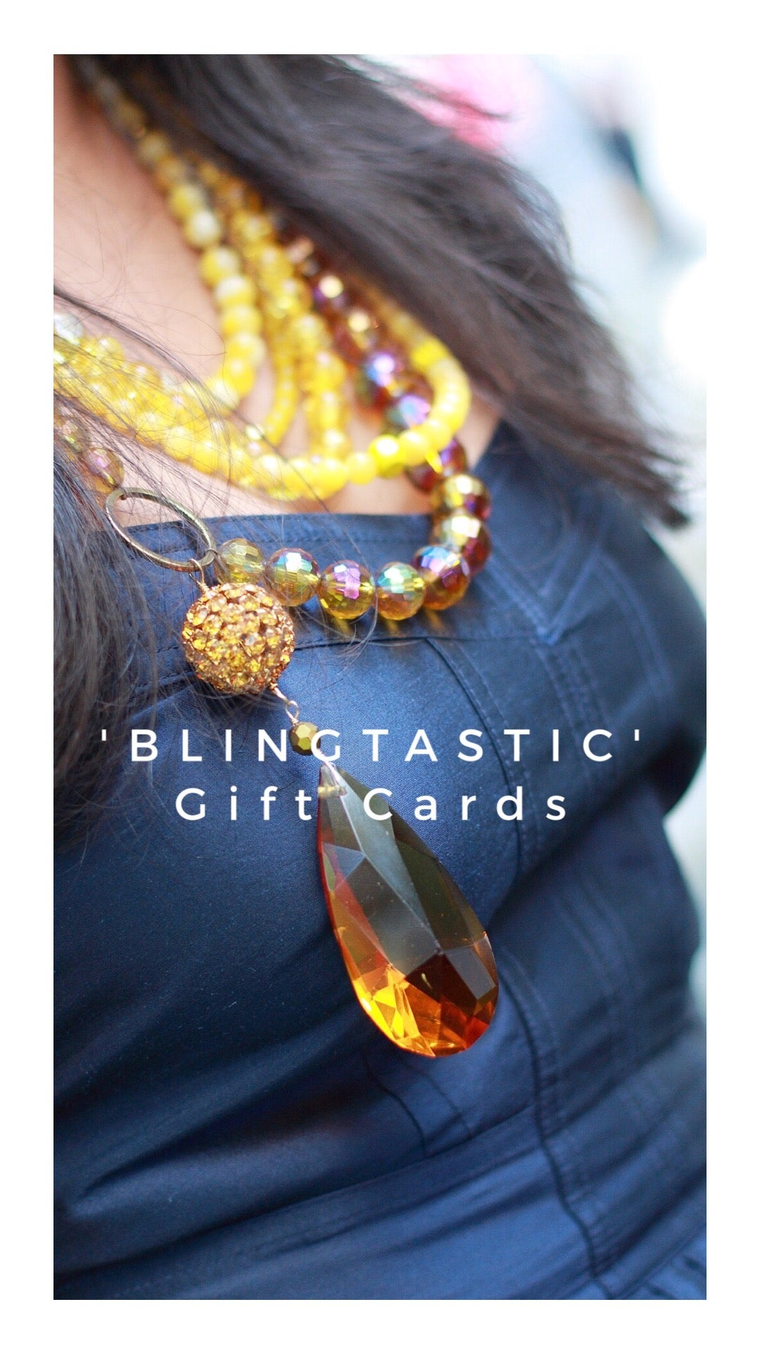'Blingtastic' Gift Cards