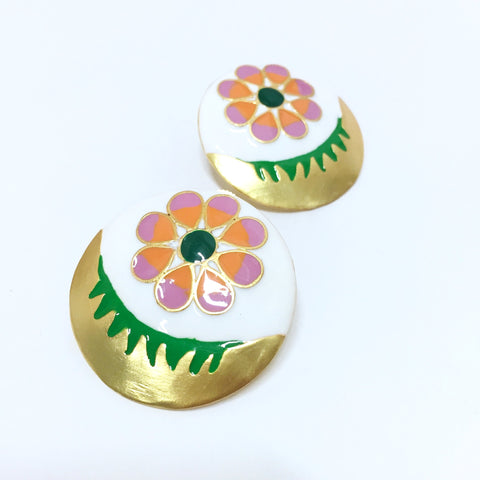 Spainspired Floral Earrings
