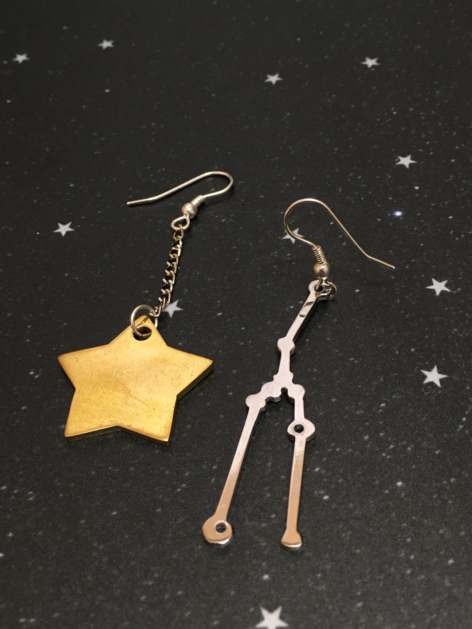 Gold Star 'TAURUS'  Earrings - Riddhika Jesrani