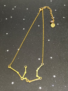 Gold 'AQUARIUS' Chain - Riddhika Jesrani