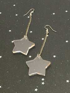 Acrylic 'Star' Earrings