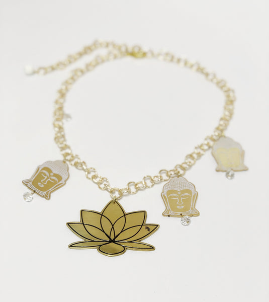 Buddha and Lotus Chain