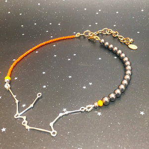 Beaded 'AQUARIUS' Necklace - Riddhika Jesrani