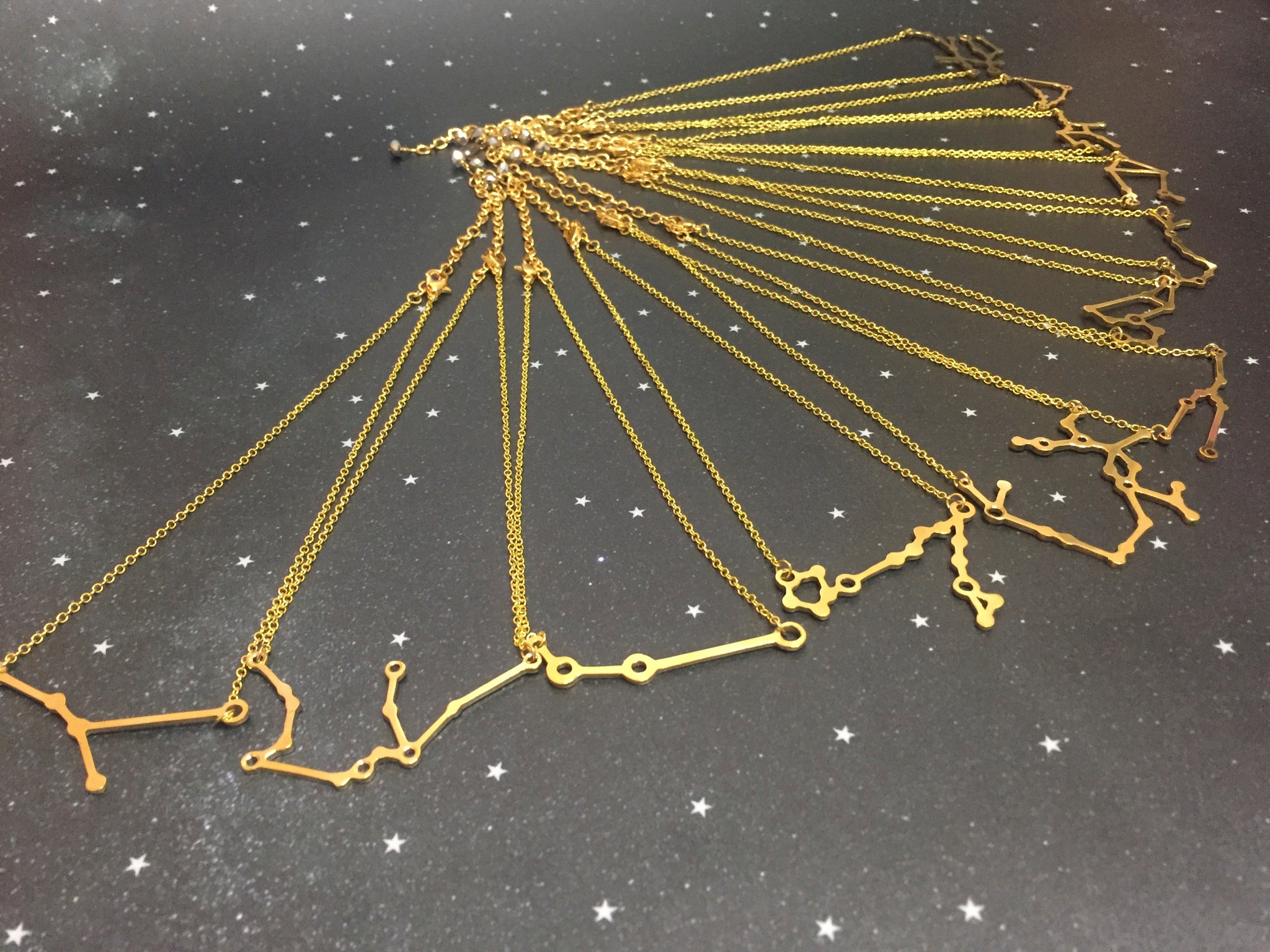 Gold 'VIRGO' Chain - Riddhika Jesrani
