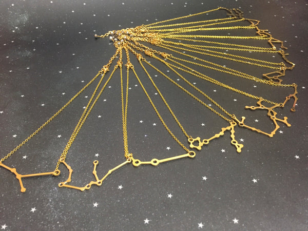 Gold 'ARIES' Chain - Riddhika Jesrani