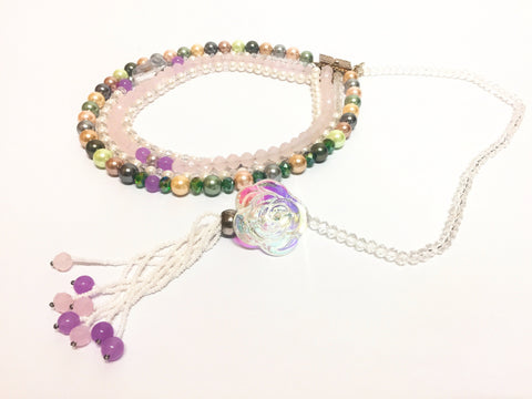Signature Beaded Pearly Delight Necklace - Riddhika Jesrani
