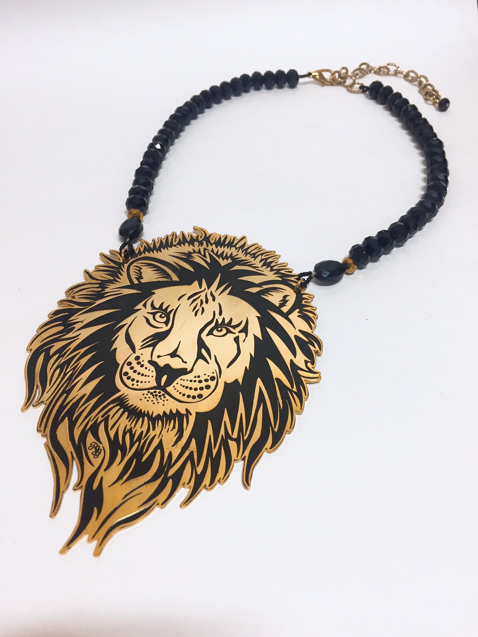 Animal Power Fierce Lion Necklace - Riddhika Jesrani