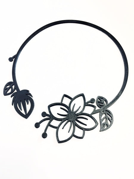 Flower & Bud Necklace