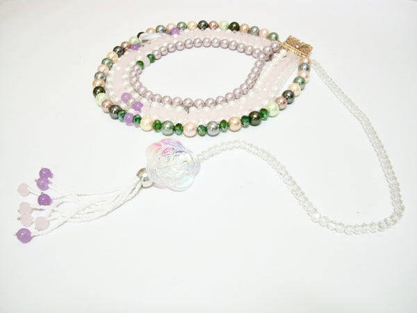 Signature Beaded Pearly Delight Necklace