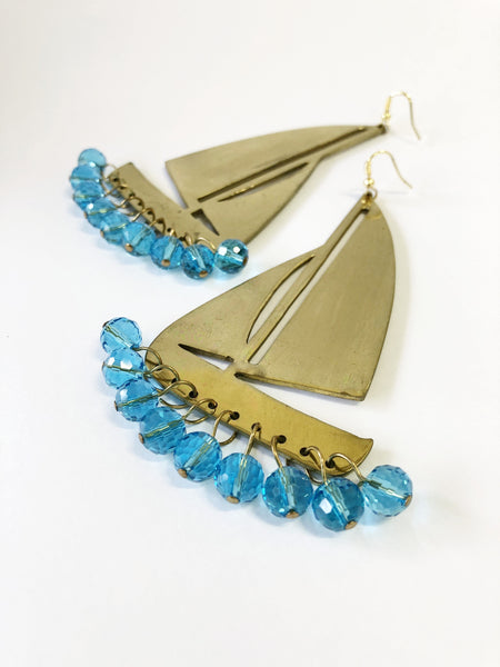 Big Boat Sea World Earrings