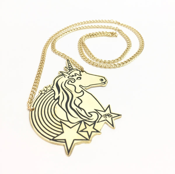 Unicorn Pendant Chain