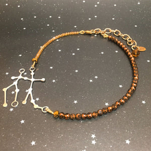 Beaded 'GEMINI' Necklace - Riddhika Jesrani