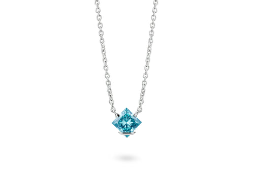 Image: Princess Logo Pendant in (New!) Blue