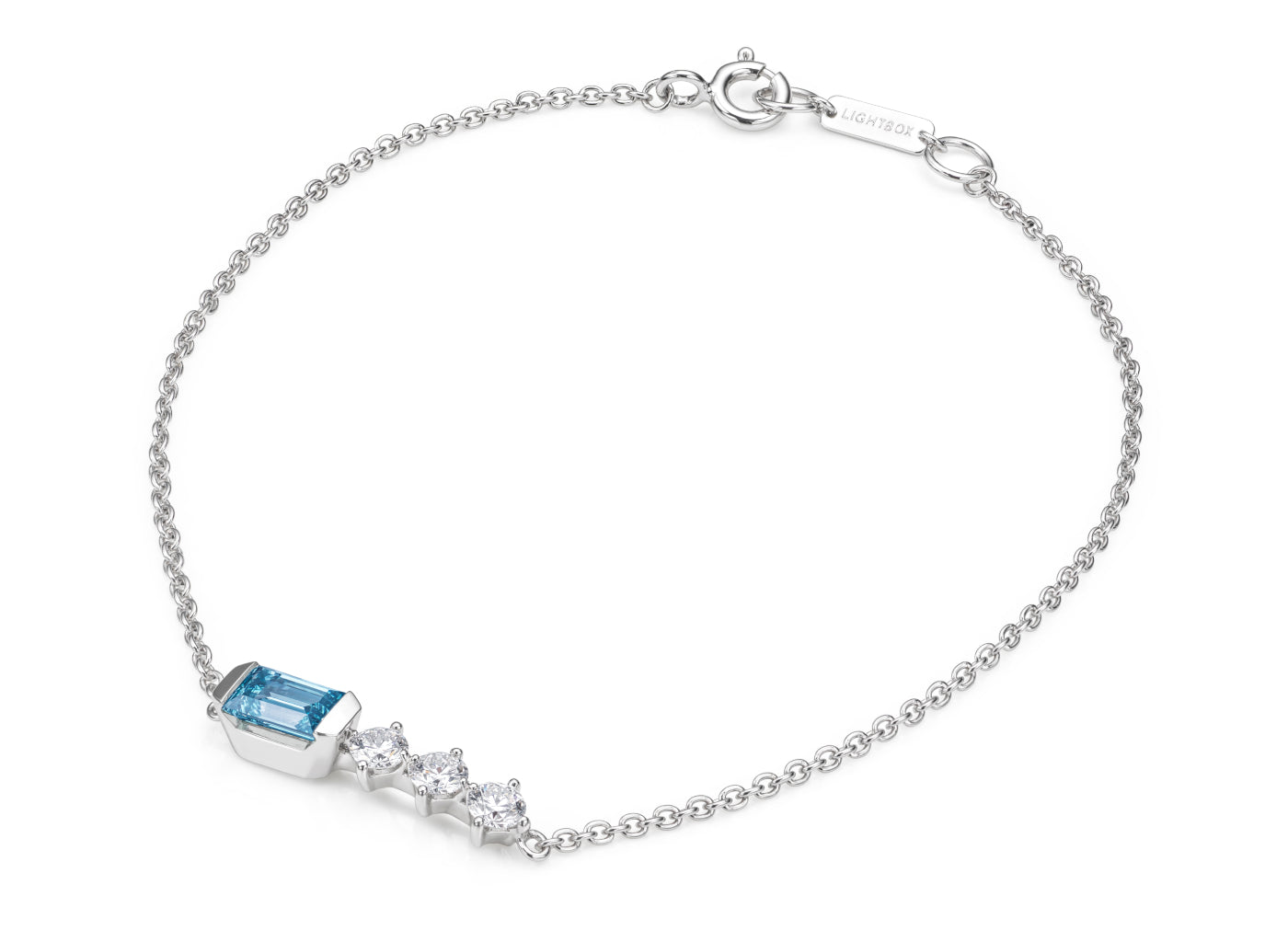 Bar Bracelet in Blue
