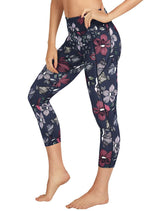 Abi and Joseph Floral Form Dual Pocket 7/8 Tight