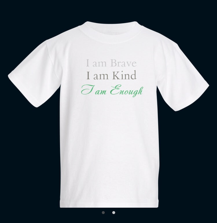 'I Am Enough' Children's Tee