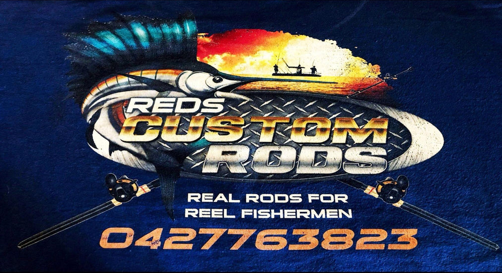 ONLINE RAFFLE - Custom Built Fishing Rod by Reds Custom Rods