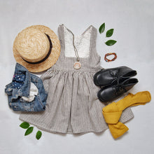 Madison Pinafore Stripes RTS