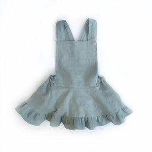 Violet Skirted Rompers Dusty Blue RTS