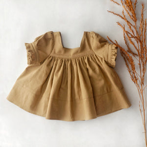Fiona Tunic, Dress Caramel RTS