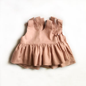 Peplum Tops - Blush MTO