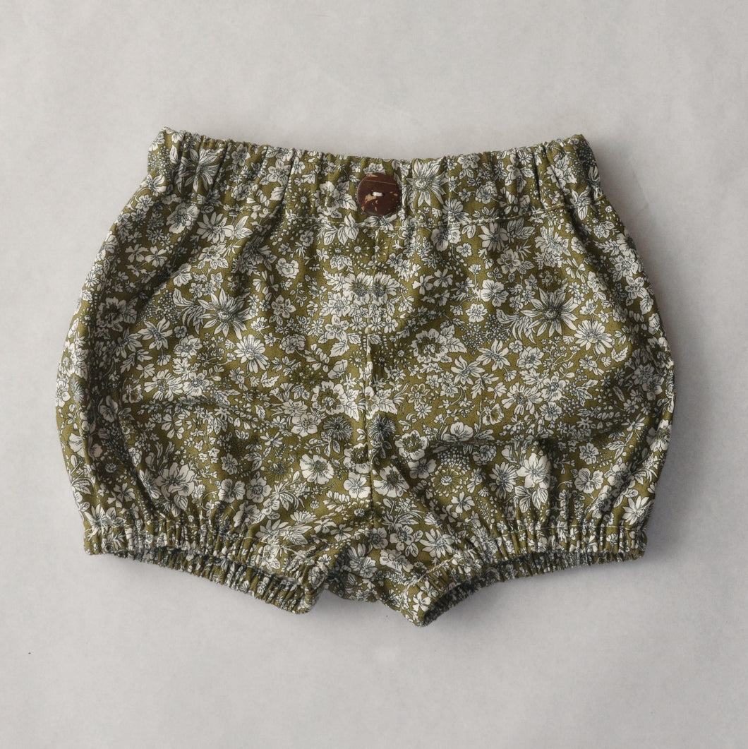 Bloomers - Liberty Green Floral MTO