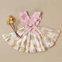 Rayna Pinafore Sunlite Blooms MTO