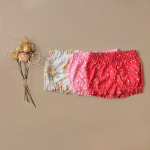 Bloomers Shorties Ruffled leg MTO